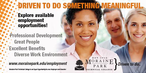 Moraine Park Technical College Employment Opportunities